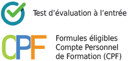 formations langues cpf test evaluation